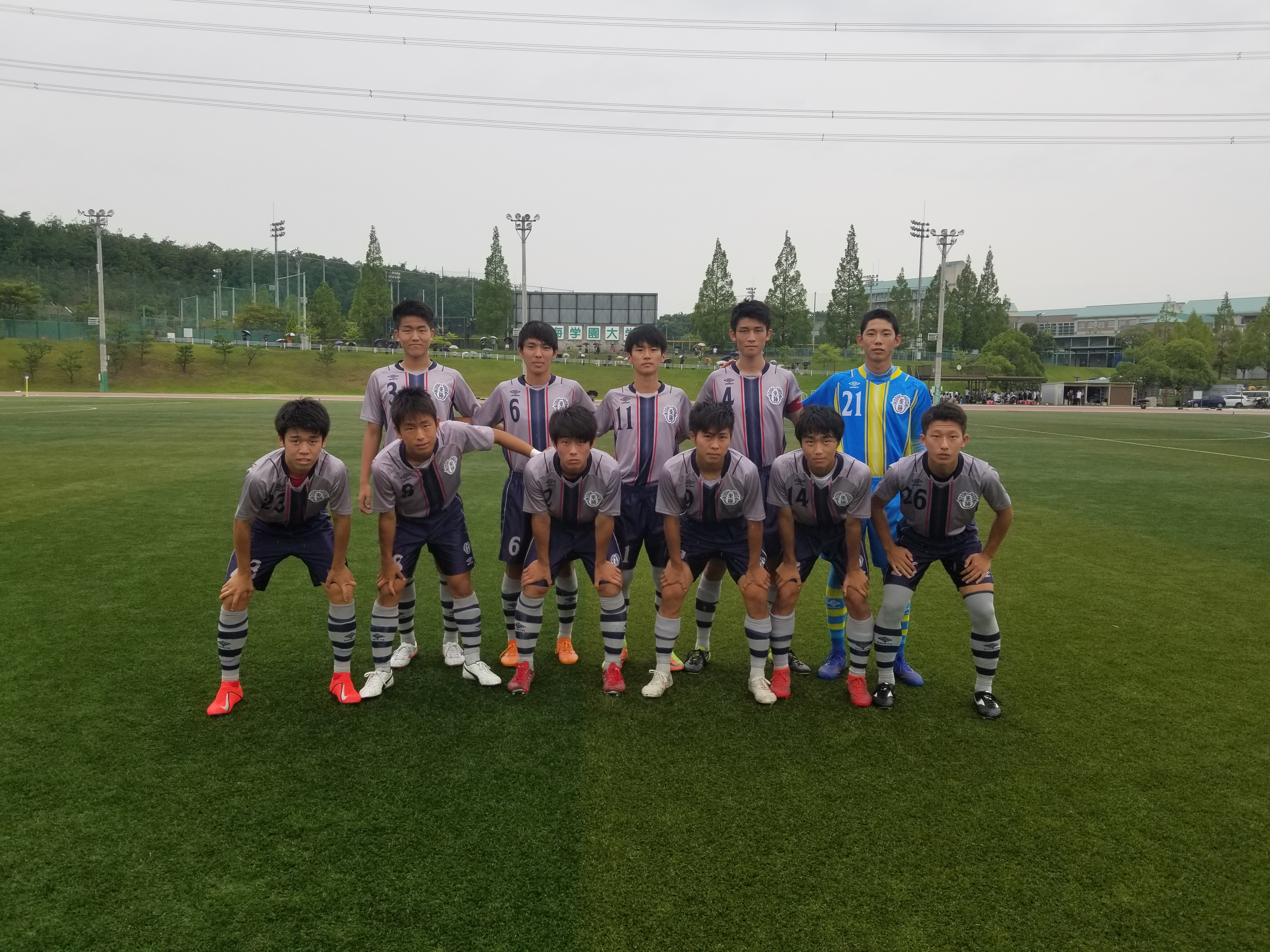 高円宮杯JFA U-18愛知県1部リーグ第10節
